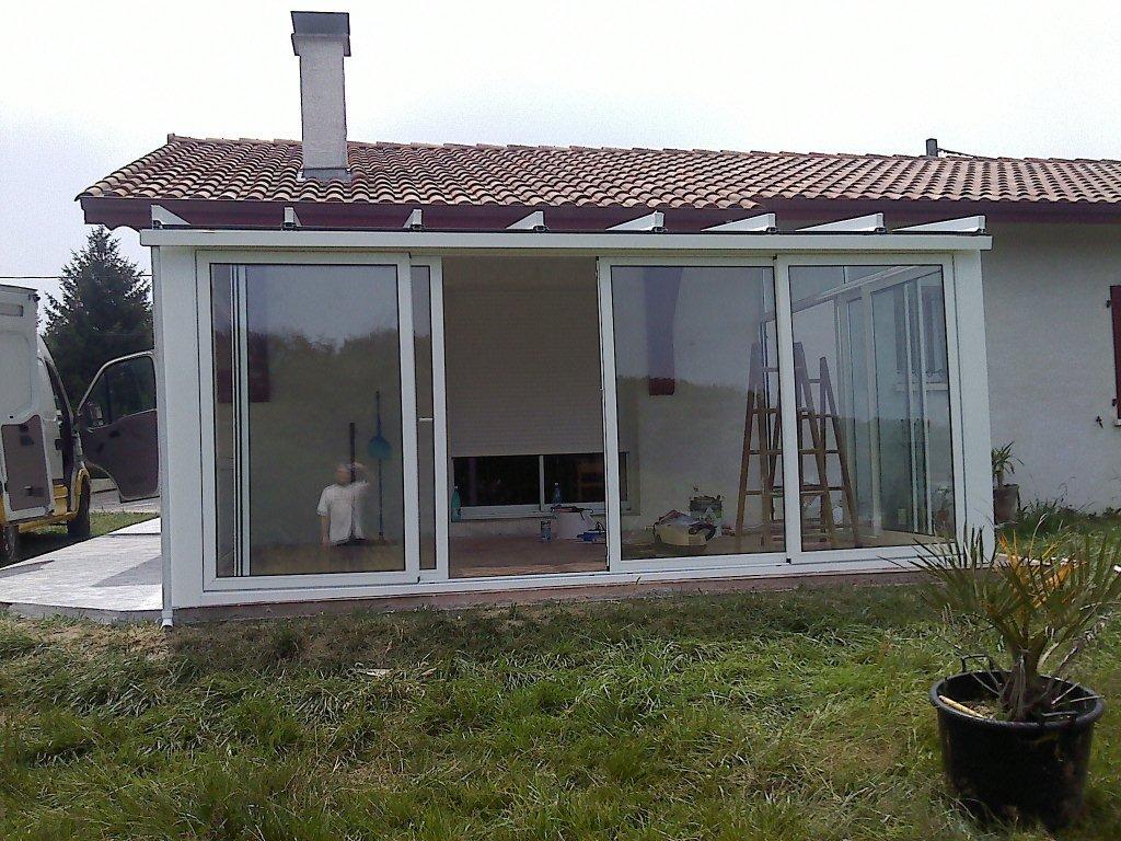 Porche de aluminio - Cerramientos de aluminio para porches ...